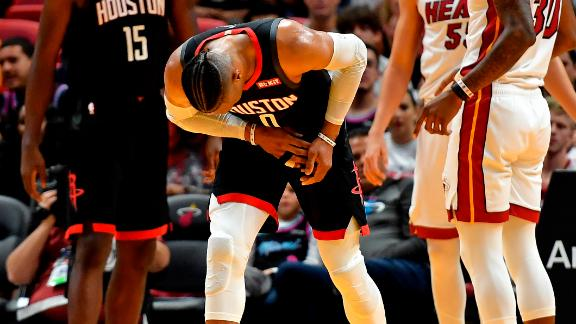 Westbrook re-aggravates right hand injury