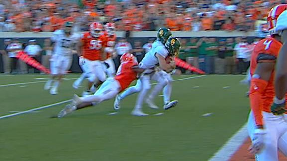 Brewer dives for Baylor TD
