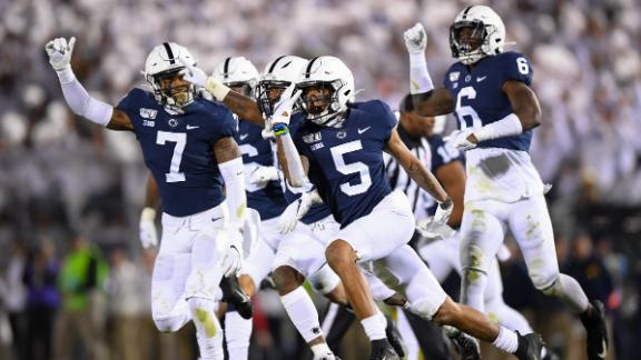 Penn State holds off Michigan for dramatic win