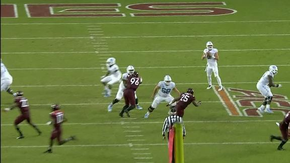 UNC gets tricky on 68-yard touchdown