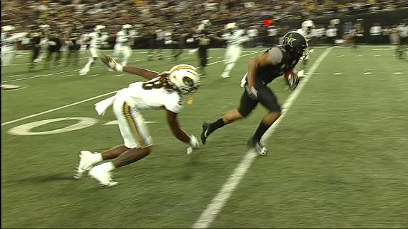 Johnson breaks tackle for Vandy TD
