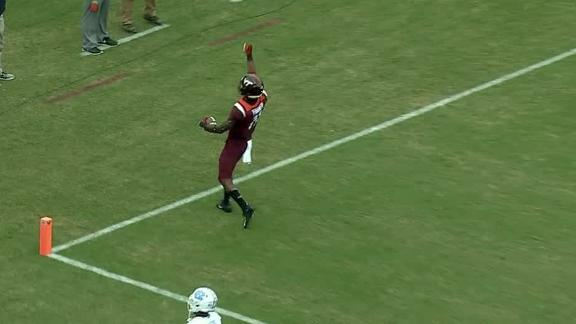 VT gets on the board with 55-yard score