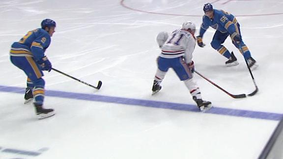 Gallagher scores 6 seconds into 2nd period from blue line