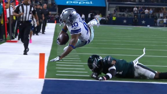 Goedert's fumble leads to Cowboys TD
