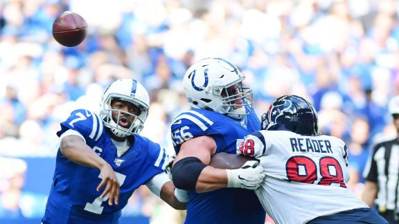 Brissett throws 4 passing TDs to lead Colts past Texans