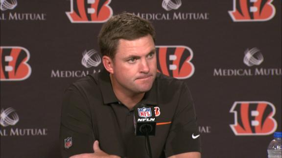 Taylor avoids questions about Bengals' QB situation