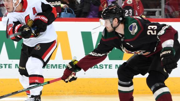 Ekman-Larsson scores in Coyotes' big win