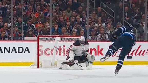 Jets beat Oilers in shootout