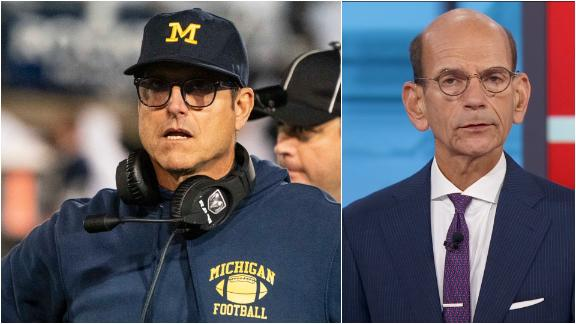 Finebaum: Michigan shouldn't embrace moral victories with Harbaugh