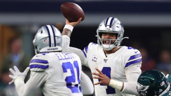 Cowboys' offense comes alive in big win vs. Eagles