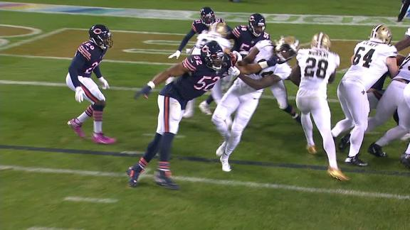 Murray hits pay dirt twice in Saints' rout of Bears