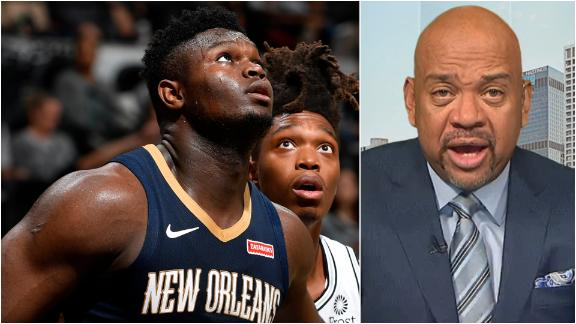 Wilbon, Kornheiser question Zion's durability