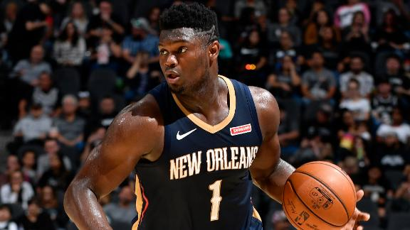 Woj: Pelicans optimistic about Zion's recovery