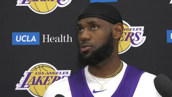 LeBron: Lakers need to practice championship habits