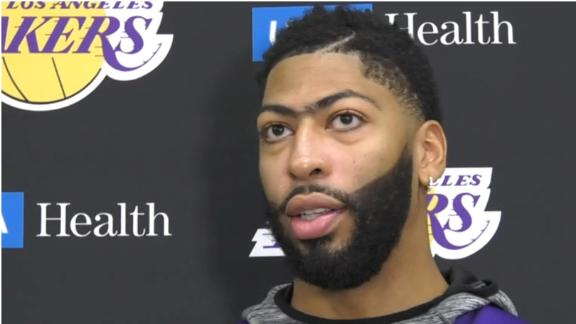 AD wasn't surprised by Kawhi's decision to play for the Clippers