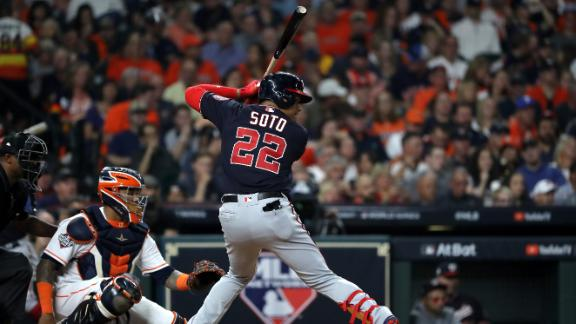 Soto comes up clutch in Game 1
