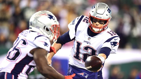 Patriots use dominant first half to defeat Jets