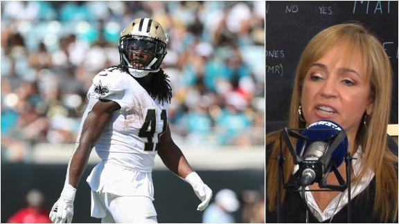 Bell doesn't think Kamara's injuries are significant
