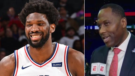 Brand expects Embiid to put up MVP-like numbers