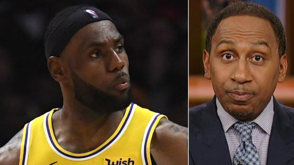Stephen A.: LeBron was atrocious offensively