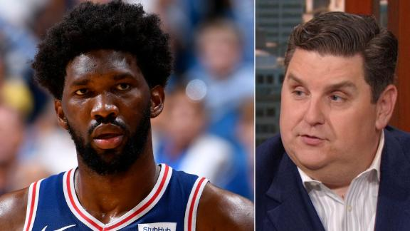 Windhorst: 76ers have no chance if Embiid isn't healthy