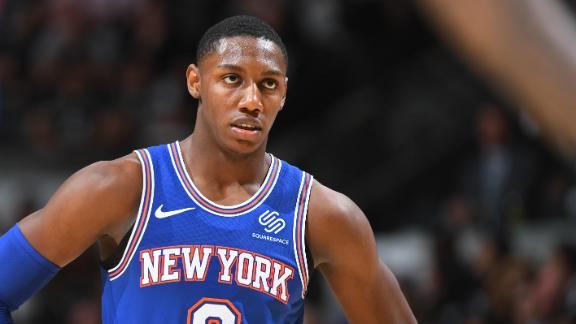 Barrett drops 21 in Knicks debut