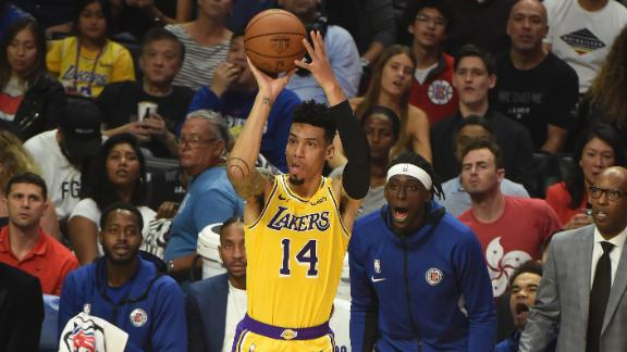 Green drops 28 points in Lakers debut