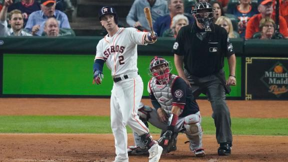 Bregman laces two-run homer, takes his time around the bases