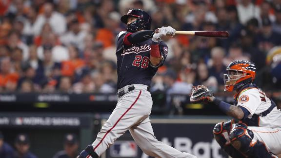 Nats break Game 2 open with a 6-run 7th