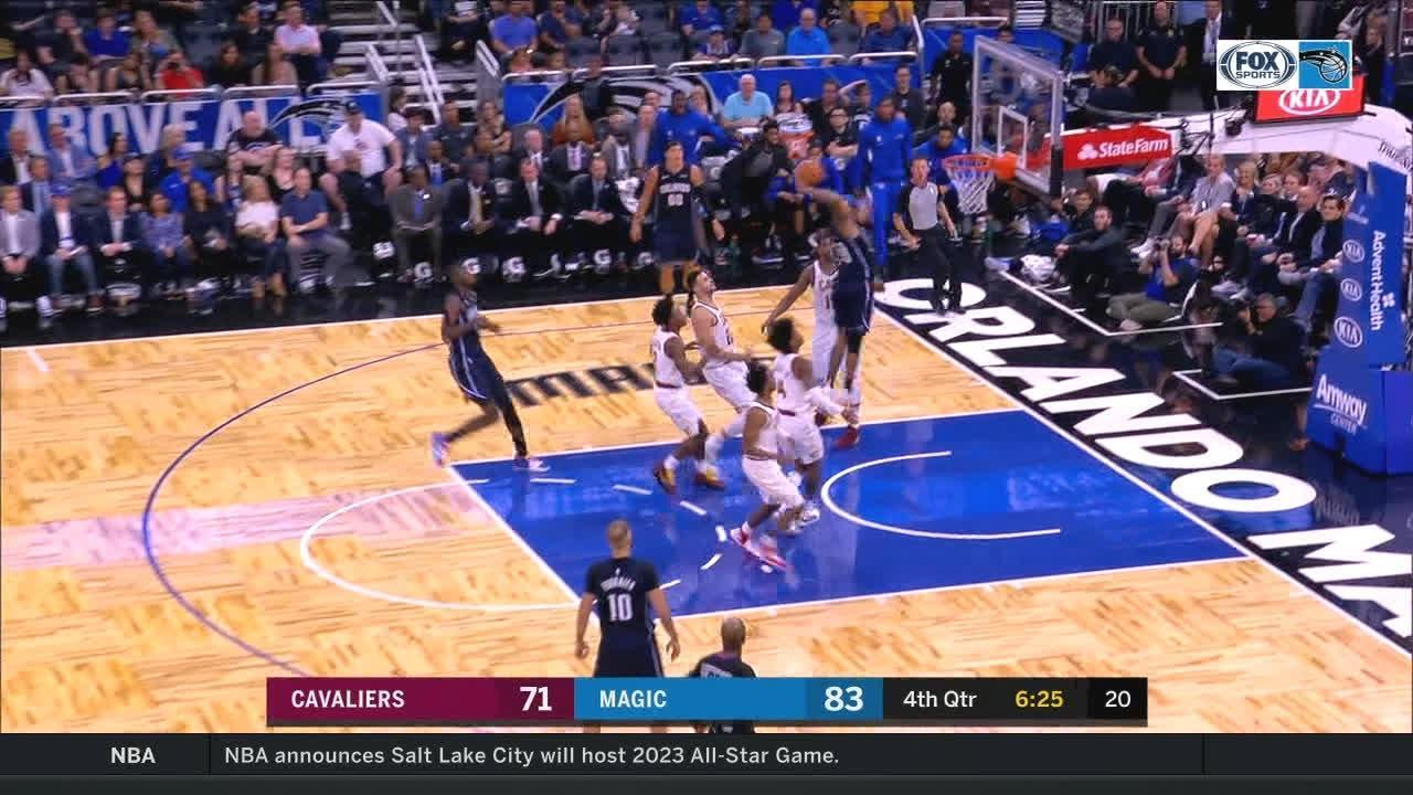Fultz with the slam