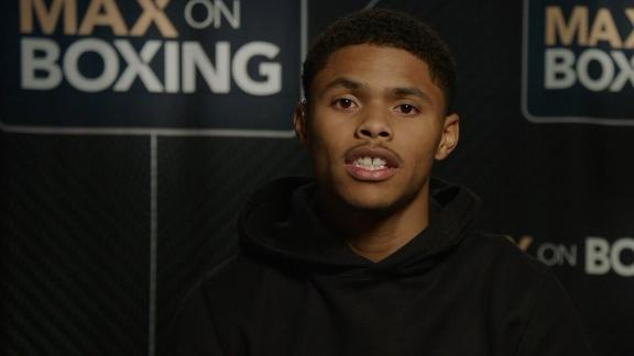 Shakur Stevenson calls Joet Gonzalez fight the biggest of his career