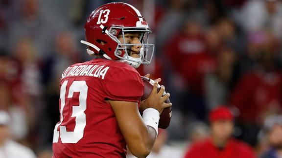 Saban: Tua's injury doesn't seem as serious as last year's
