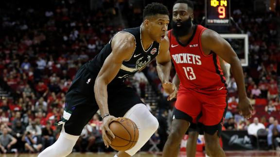 Giannis records 15th career triple-double in win vs. Rockets