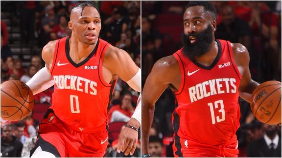 Harden, Westbrook come up short in opener vs. Bucks
