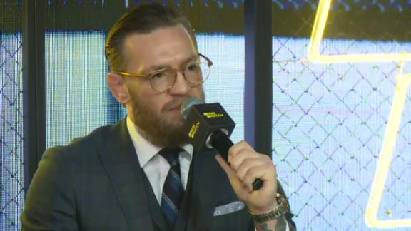 McGregor on Khabib: 'You can run but you cannot hide'