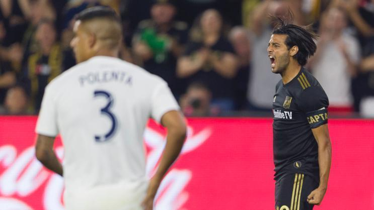 Vela and LAFC strike first in El Trafico