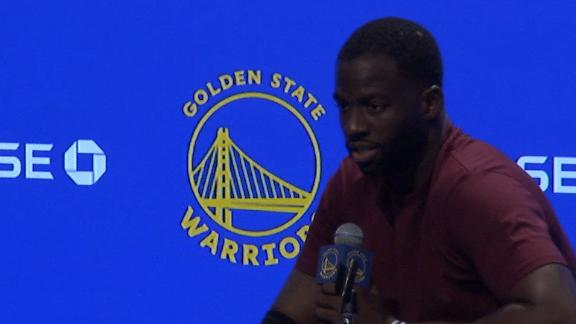 Draymond: 'We f------ sucked'