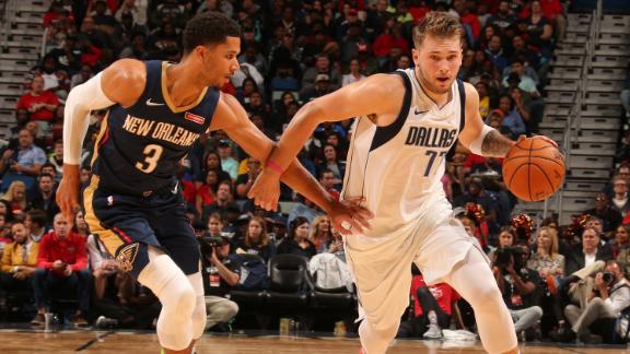 Luka's triple-double fuels comeback win vs. Pelicans