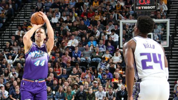 Bogdanovic, Jazz shoot the lights out vs. Kings
