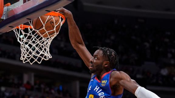 Grant puts on dunk show vs. Suns