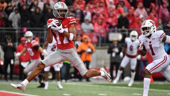 Image result for Chris Olave Photos Against Wisconsin