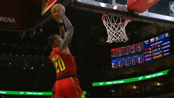 Young feeds Collins for powerful oop