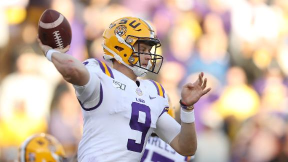 Burrow, LSU prevail over Auburn