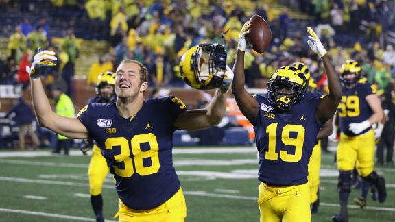 Michigan delivers upset beat down to Notre Dame