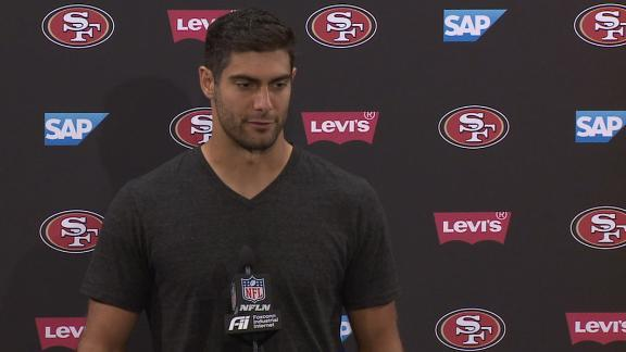 Garoppolo: 49ers set the tone early vs. Panthers