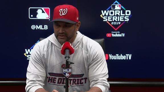 Martinez says Scherzer is 'really hurting'