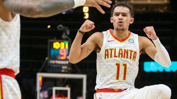 Young's efforts aren't enough for a Hawks win