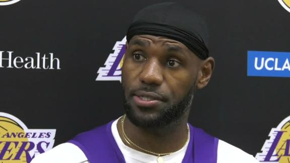 LeBron: Family still displaced by Getty Fire