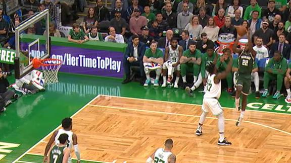 Middleton cashes Dirk-like jumper at buzzer