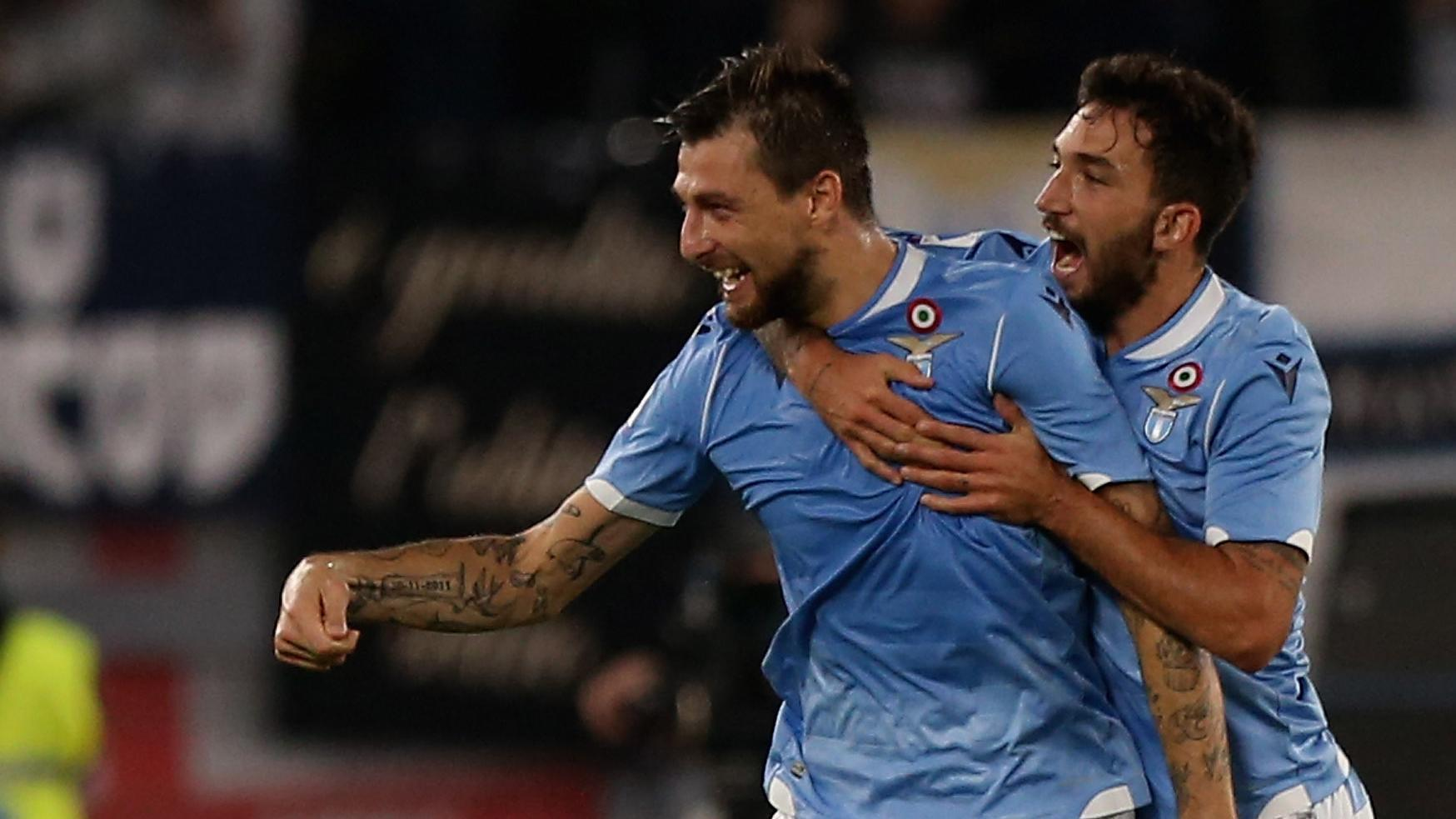 Lazio defender scores unbelievable goal from way out
